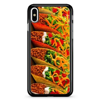 Taco Bell 2 iPhone X Case