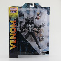 DST Marvel Select The Amazing Spider-man 2 Venom PVC Action Figure Collcetion Model Toy