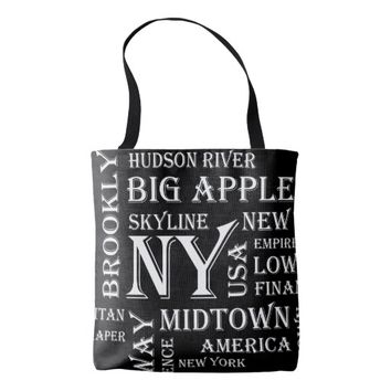 New York Favour Tote Bag