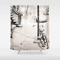New York City Shower Curtain by Vivienne Gucwa