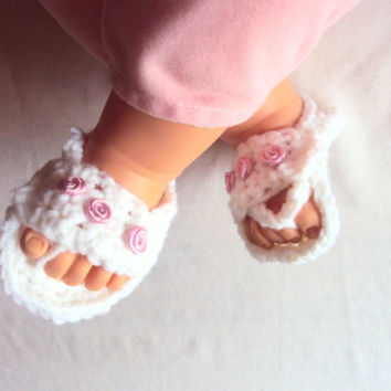 Baby Flip Flop Sandals Crochet Baby Slippers Sandals New Born Baby Accessories Baby Summer Shoes Photography Prop Baby Shower Gift Ideas