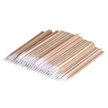 2017 New 300pcs/set Cotton Sticks Makeup Tattoo Cleaning Supplies Microblading For Girl Women se18
