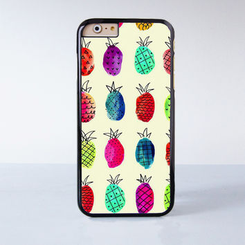 Painting Pineapple Plastic Case Cover for Apple iPhone 6 6 Plus 4 4s 5 5s 5c