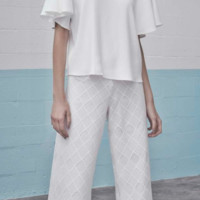 Alexis 'Naim Flared White' Pant | Shop Splash