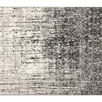 "2'3""x11' Jana Runner, Black/Gray, Area Rugs"