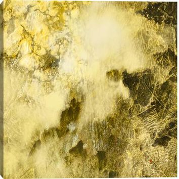 Gold Rush II Canvas Wall Art Print by K. Conner