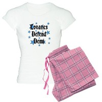 Lovatics Defend Demi Pajamas on CafePress.com