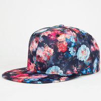 Floral Womens Snapback Hat | Hats