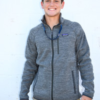 Patagonia Better Sweater Jacket- Nickel/Forge Grey
