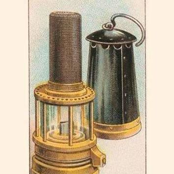 Safety Lamp (Paper Poster)