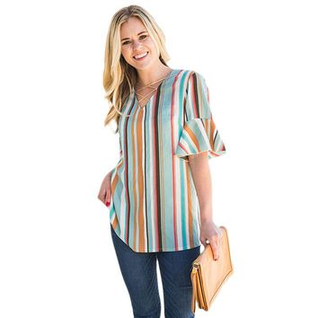 To The French Riviera Blouse