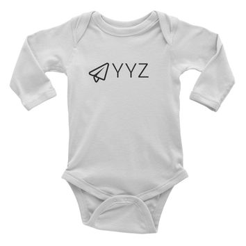 Infant long sleeve one-piece YYZ