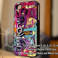 maroon 5 song iPhone Case and Samsung Galaxy Case