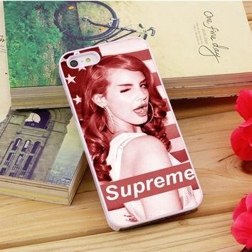 Lana Del Rey Supreme iPhone 5|5S|5C Case Auroid