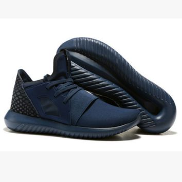ADIDAS Fashion Sneakers Sport Shoes Tubular Sneakers Blue