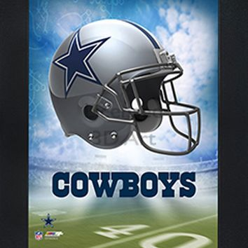 Dallas Cowboys | 3D Art | By PFF | Framed | 3-D | Lenticular Artwork | NFL Licensed