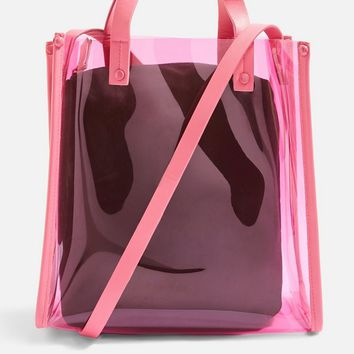 Perspex Shopper Bag