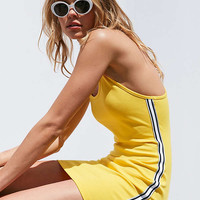 Silence + Noise Athletic Tape Striped Bodycon Dress   Urban Outfitters