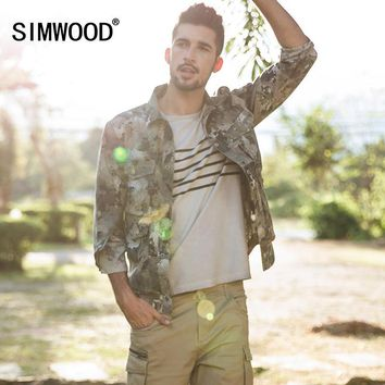 Trendy SIMWOOD 2018 Autumn Jacket Men Military Slim Fit Casual Fashion Camouflage Coats High Quality Windbreaker Brand Clothing 180064 AT_94_13