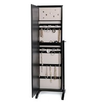 Black Cheval Armoire Mirror | Kirkland's