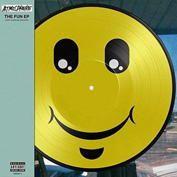 Atmosphere - The Fun EP: Happy Clown Bad Dub Eight [LP] (Smiley Face Picture Disc, obi insert, download, limited)