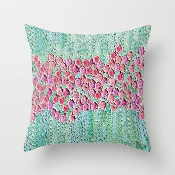 :: Smell The Roses :: Throw Pillow by :: GaleStorm Artworks ::