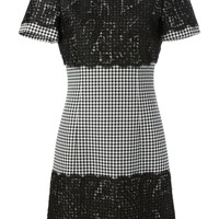 Michael Kors houndstooth lace dress