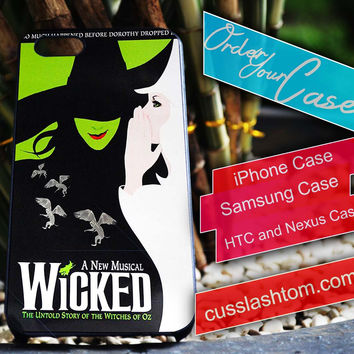 Exclusive New Musical of Oz iPhone for 4 5 5c 6 Plus Case, Samsung Galaxy for S3 S4 S5 Note 3 4 Case, iPod for 4 5 Case, HtC One M7 M8