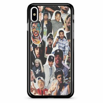 Chance The Rapper Collage iPhone X Case