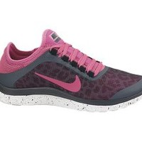 The Nike Free 3.0 v5 EXT Women's Shoe.