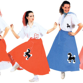 women's costume: poodle skirt | turquoise