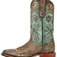 Dan Post Blue Bird Cowgirl Boots - Square Toe - Sheplers