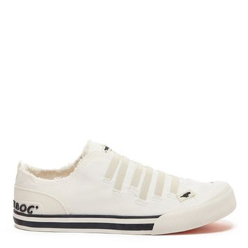 Joint Off White Canvas Sneaker