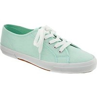 Women's Lace-Up Canvas Sneakers