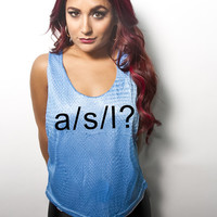 A/S/L | Women's Tank - Bad Kids Collective