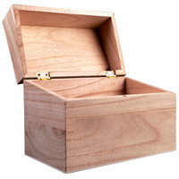 ArtMinds® Wooden Recipe Box