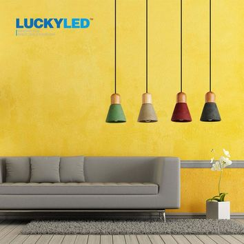Droplight Cement Pendant Lamps