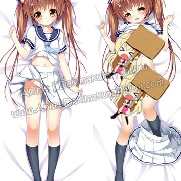 New Kawaii Little School Girl Anime Dakimakura Japanese Hugging Body Pillow Cover ADP-512123