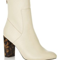 ARLO Contrast Heel Sock Boot - Boots - Shoes