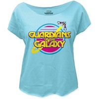 Guardians of the Galaxy Retro Logo Juniors Dolman (Medium)