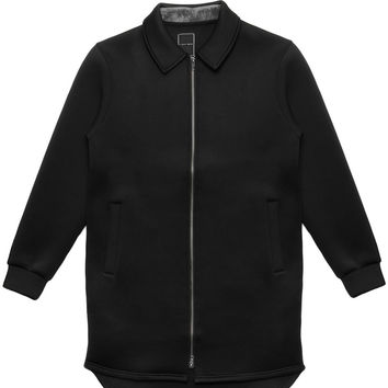 I Love Ugly - Long Layer Jacket (Black)