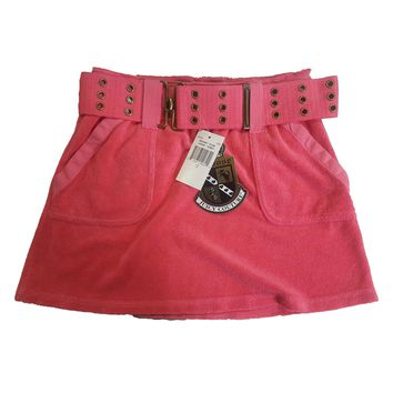 Juicy Couture Girls / Teens Resort Pink Cargo Terry Skirt | eBay
