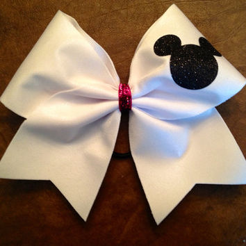 Cheer Bow - Mickey Mouse
