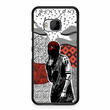 Twenty One Pilots Artwork Poster HTC M9 Case