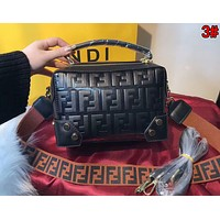 FENDI New Fashionable Women Shopping Bag Leather Shoulder Bag Crossbody Satchel