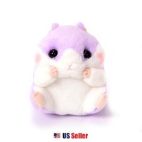 AMUSE Coroham Coron Cafe Coron Hamster Plush Standard Collection : Blueberry-chan $13.99