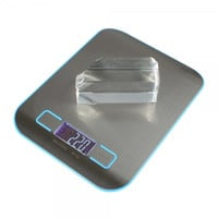 "5kg x 1g 1.7"" Digital Weight Kitchen Food Diet Scale H318 Blue"