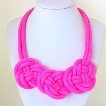 Pink Neon Necklace