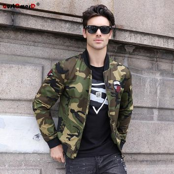 Trendy GustOmerD 2017 New Autumn Winter Camouflage Military Jacket Men Casual Style Army Bomber Jacket Men Fashion Male Jackets Coats AT_94_13