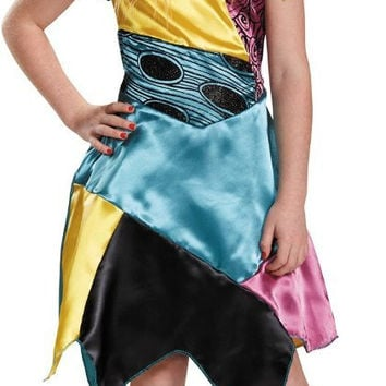 Nightmare Before Christmas Sally Classic Child Costume L